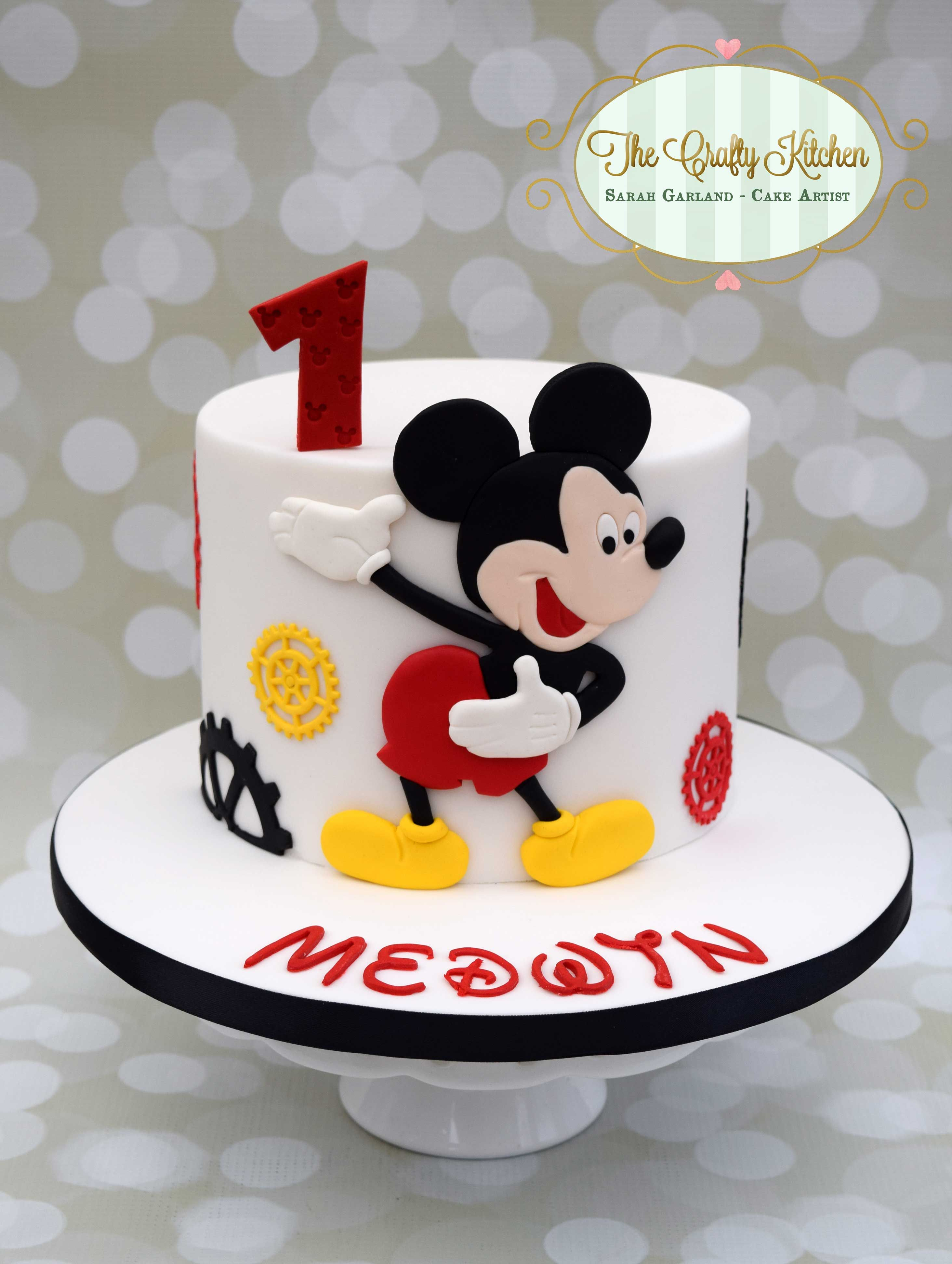 Mickey Mouse Birthday Cake Mickey Mouse Birthday Cake Mickey Minnie In 2019 Pinterest