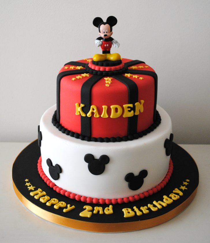 Mickey Mouse Birthday Cake Miss Cupcakes Blog Archive Mickey Mouse Birthday Cake
