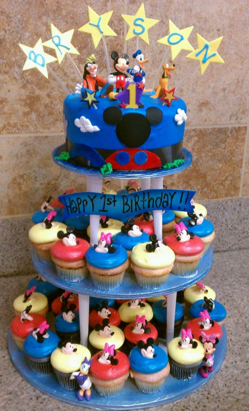 800 X 1318 In 30 Great Image Of Mickey Mouse Birthday Cakes
