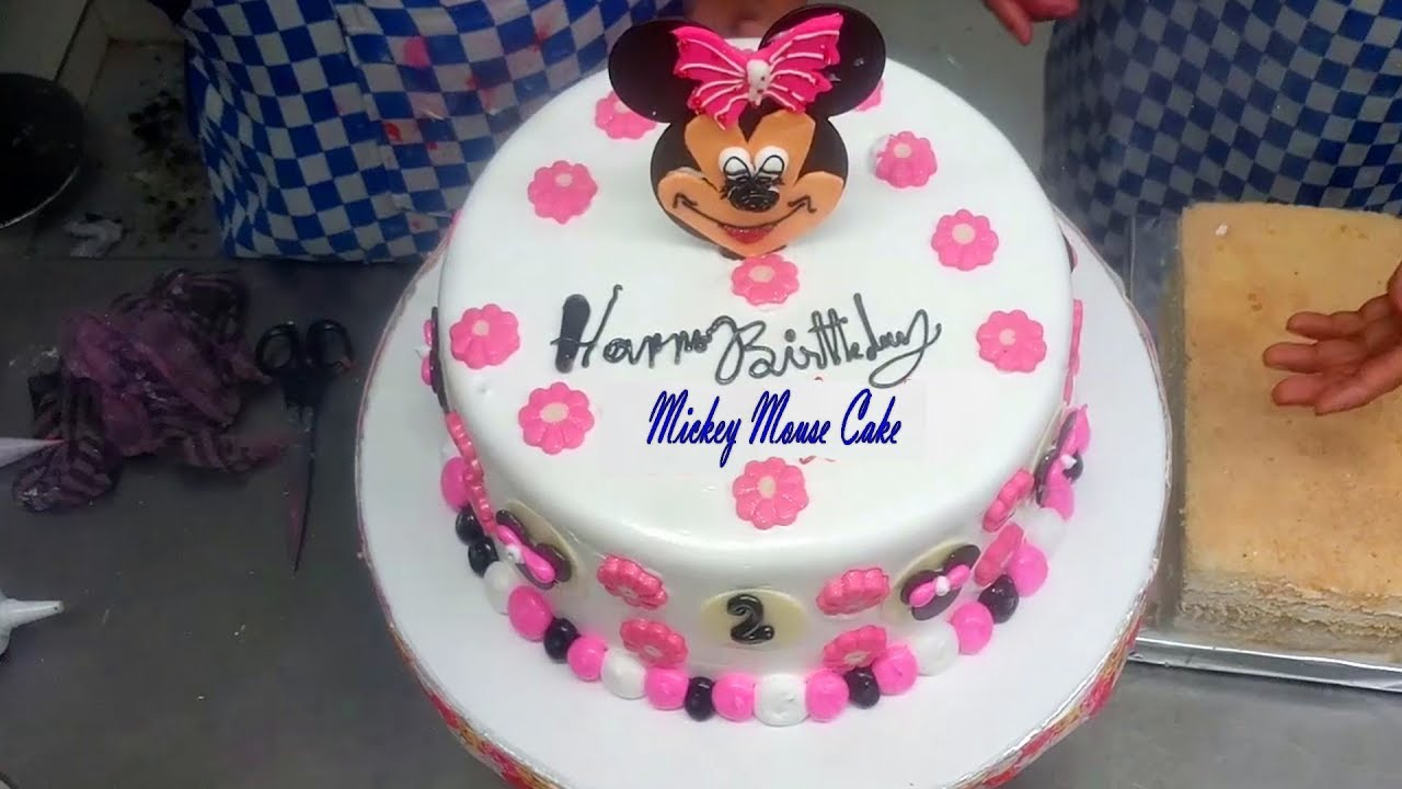 Mickey Mouse Birthday Cakes Easy Cake Design For Kids