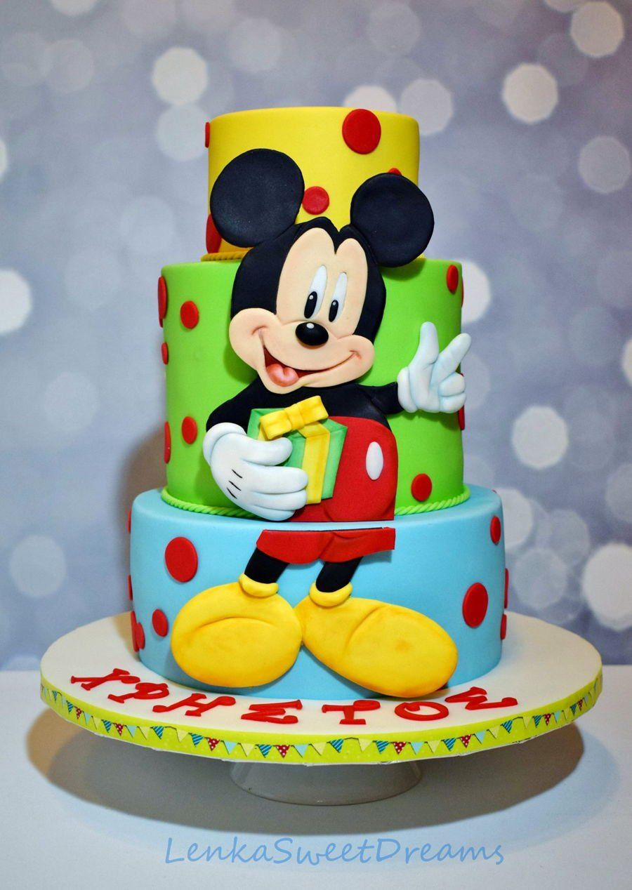 Mickey Mouse Birthday Cakes Mickey Mouse Birthday Cake Mickey Mouse Birthday Cake For A Little
