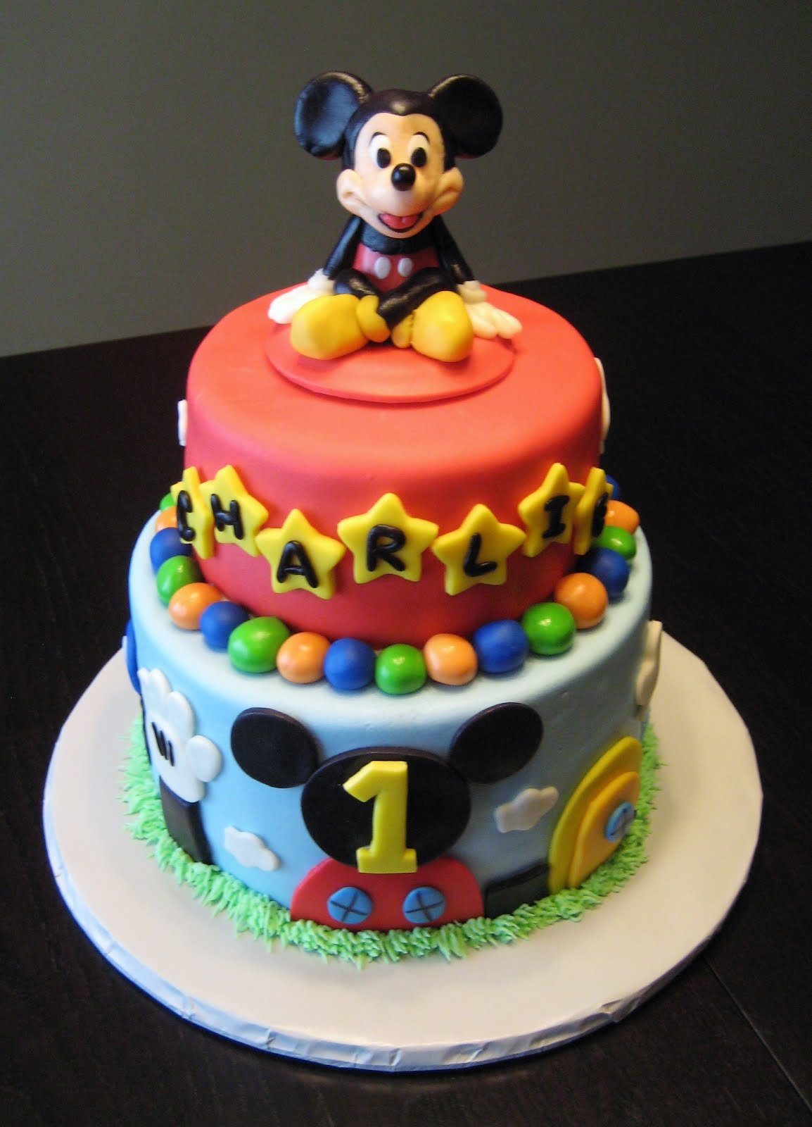 Mickey Mouse Birthday Cakes Mickey Mouse Cake Decoration Ideas Little Birthday Cakes
