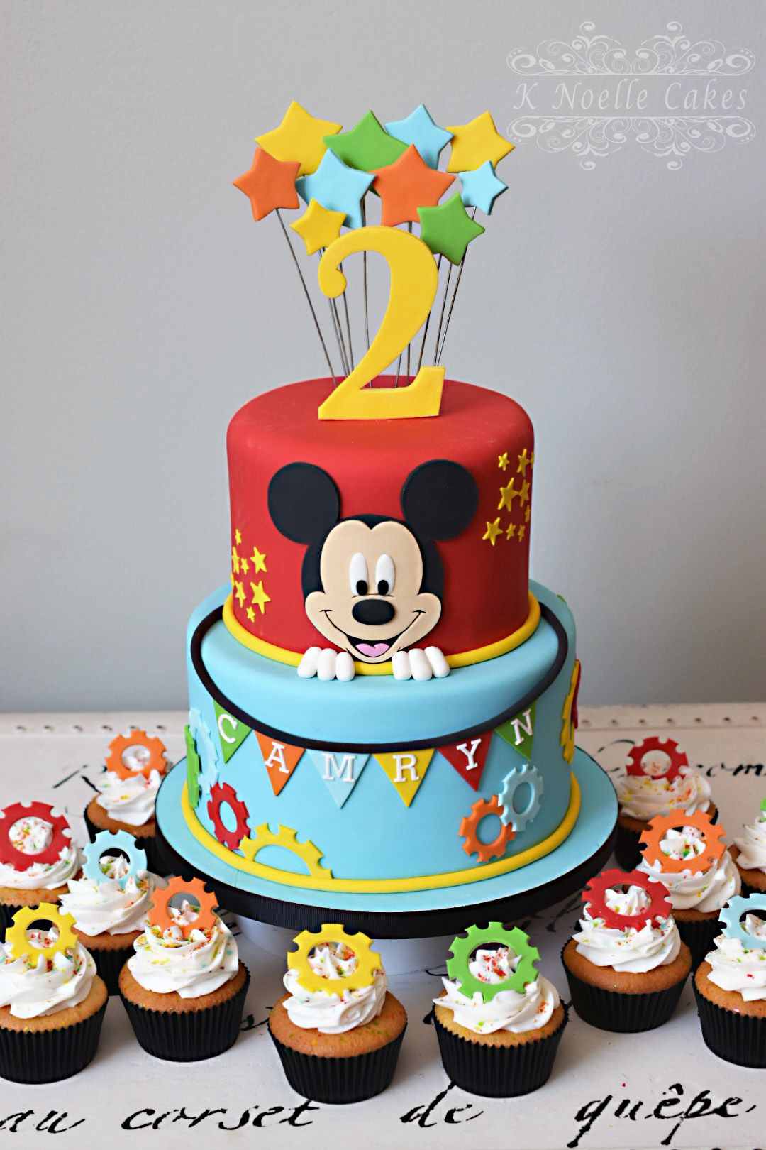 Mickey Mouse Birthday Cakes Mickey Mouse Clubhouse Theme Cake K Noelle Cakes Cakes K