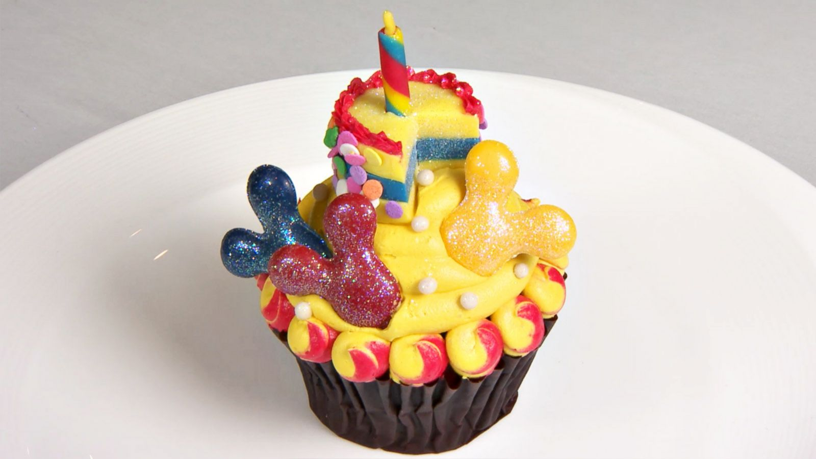 Mickey Mouse Birthday Cakes Mickeys 90th Birthday Cupcake Will Be Gone Before You Know It Abc