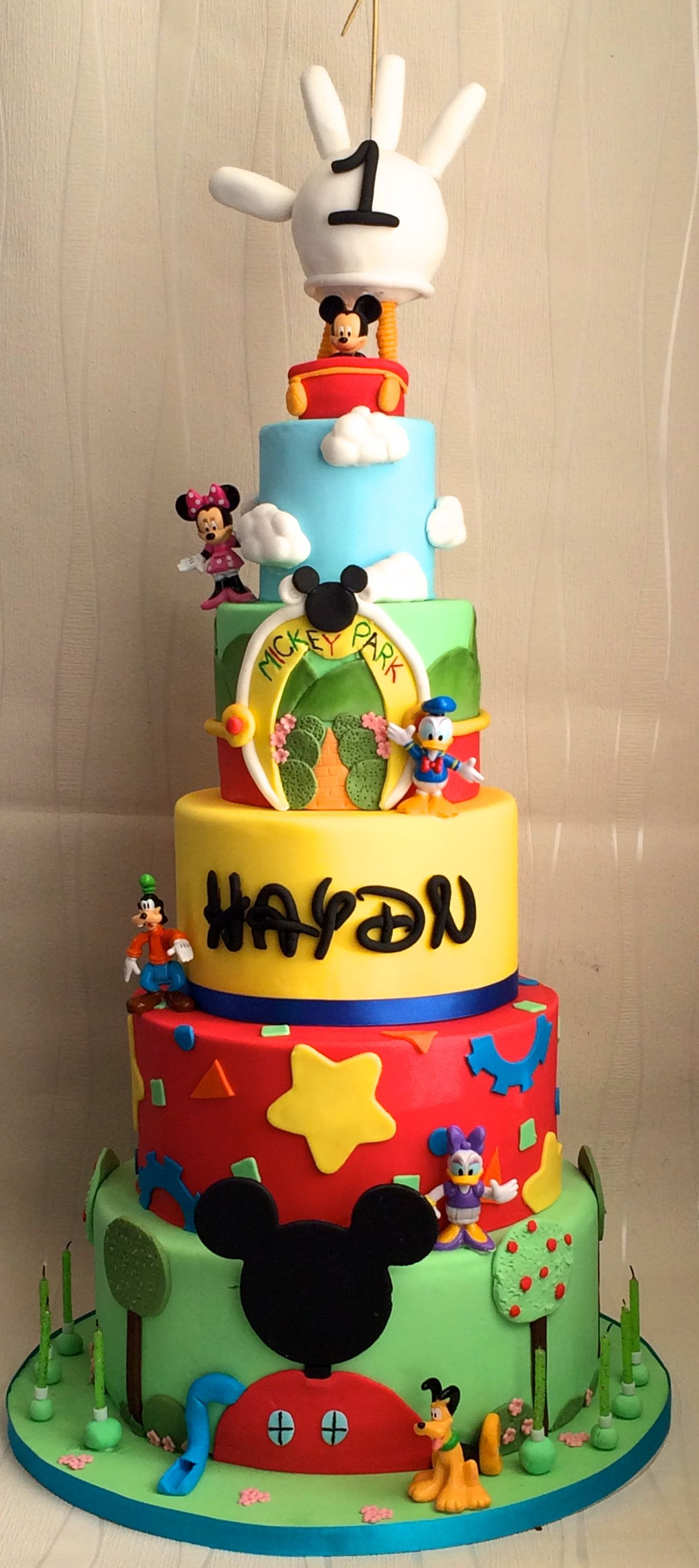 2973 In 35 Amazing Image Of Mickey Mouse Clubhouse Birthday Cakes