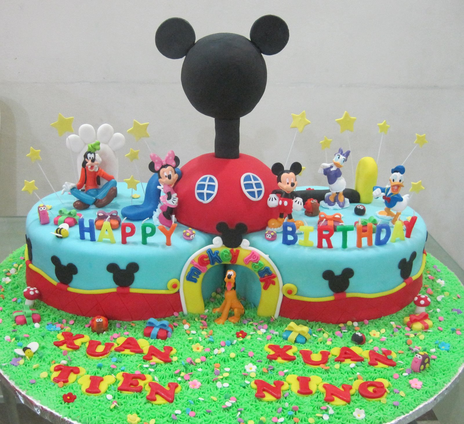 Mickey Mouse Clubhouse Birthday Cakes Cupcake Divinity Mickey Mouse Clubhouse Cake