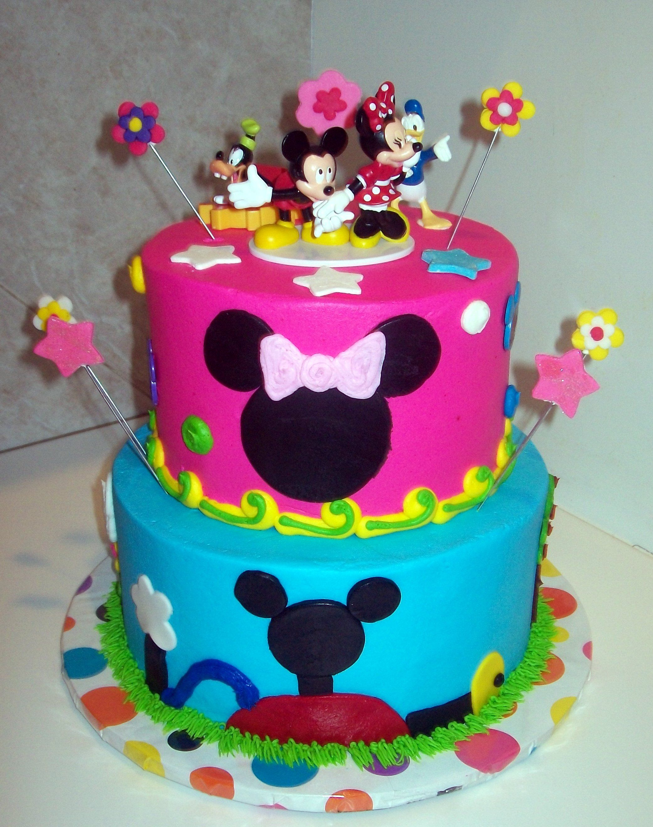 Mickey Mouse Clubhouse Birthday Cakes Image Detail For Mickey Mouse Clubhouse For A Girl Mommy File