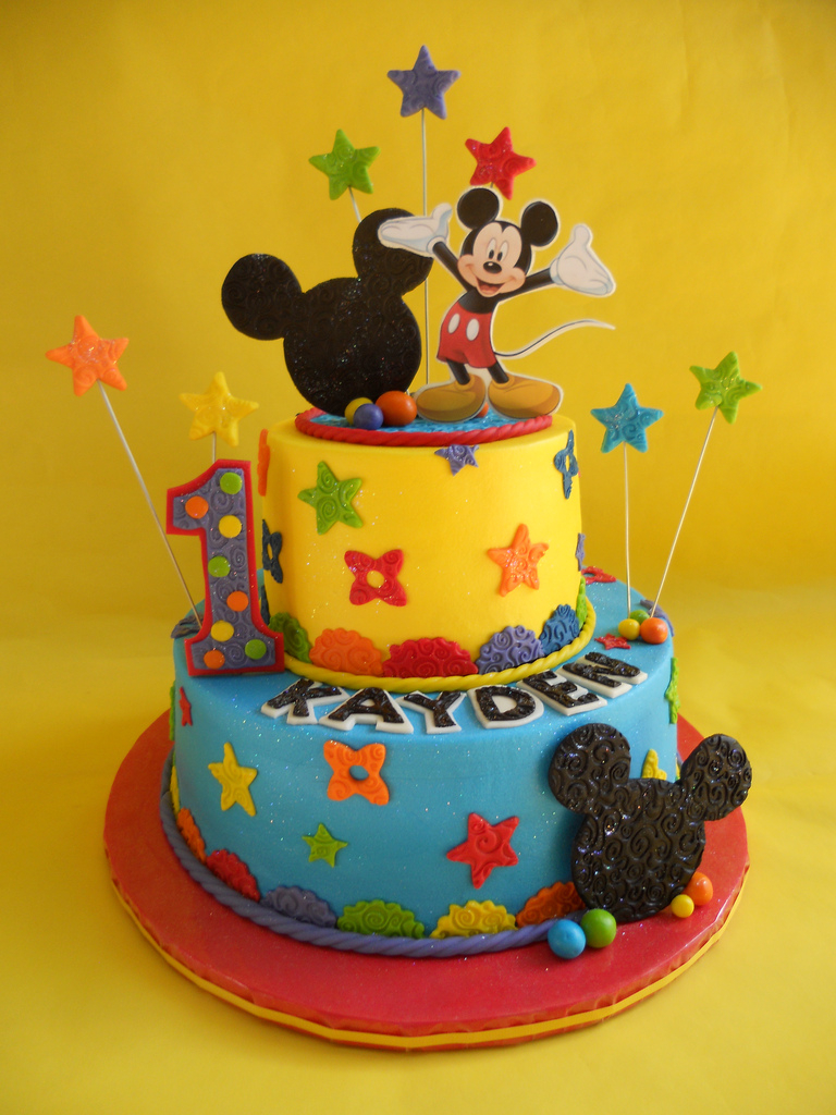 Mickey Mouse Clubhouse Birthday Cakes Mickey Mouse Clubhouse Birthday Cake Amy Stella Flickr