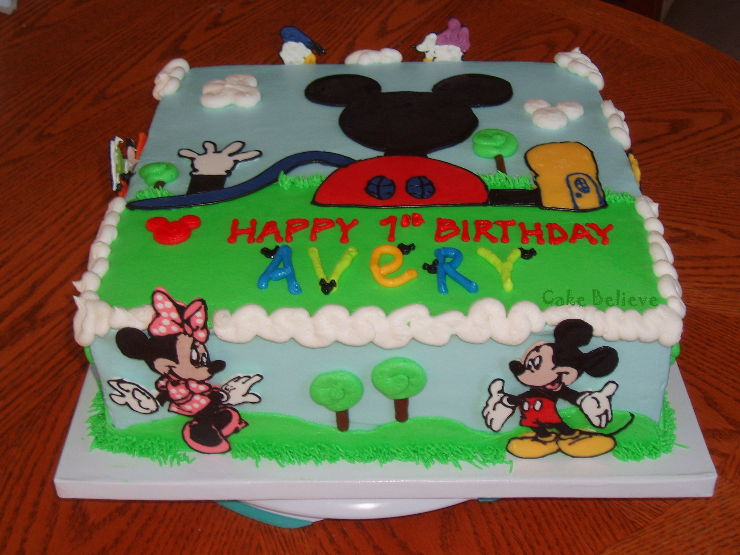 Mickey Mouse Clubhouse Birthday Cakes Mickey Mouse Clubhouse Birthday Cake Fresh Mickey Mouse Clubhouse
