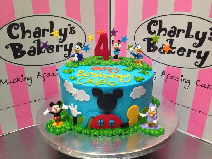 Mickey Mouse Clubhouse Birthday Cakes Mickey Mouse Clubhouse Friends Themed 4th Birthday Cake Flickr