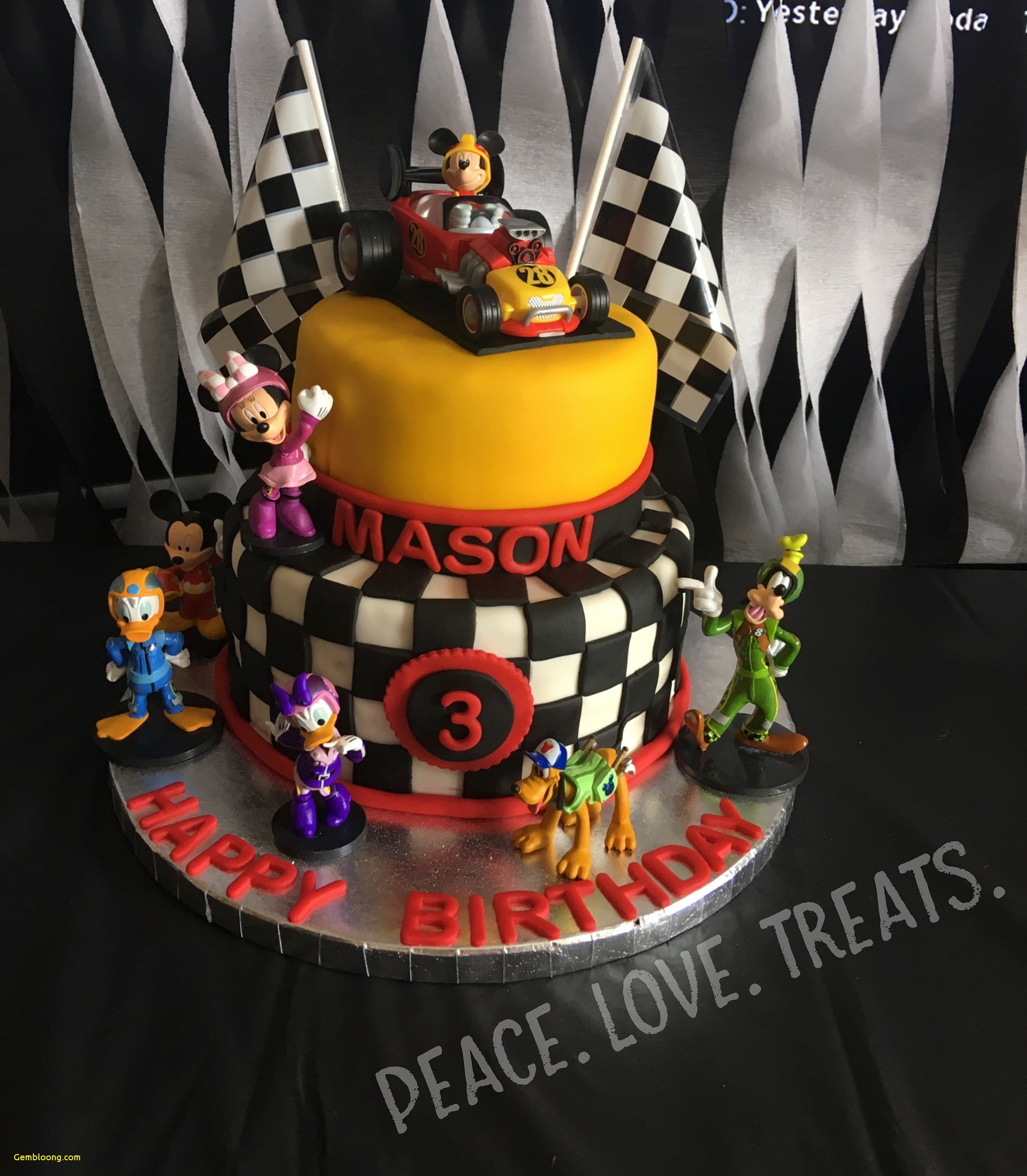 3434 In 32 Excellent Image Of Mickey Mouse First Birthday Cake