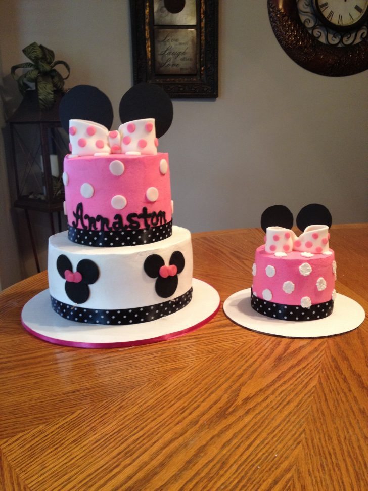 Mickey Mouse First Birthday Cake Mickey Mouse Birthday Cakes Fresh Minnie Mouse Heres Another Minnie