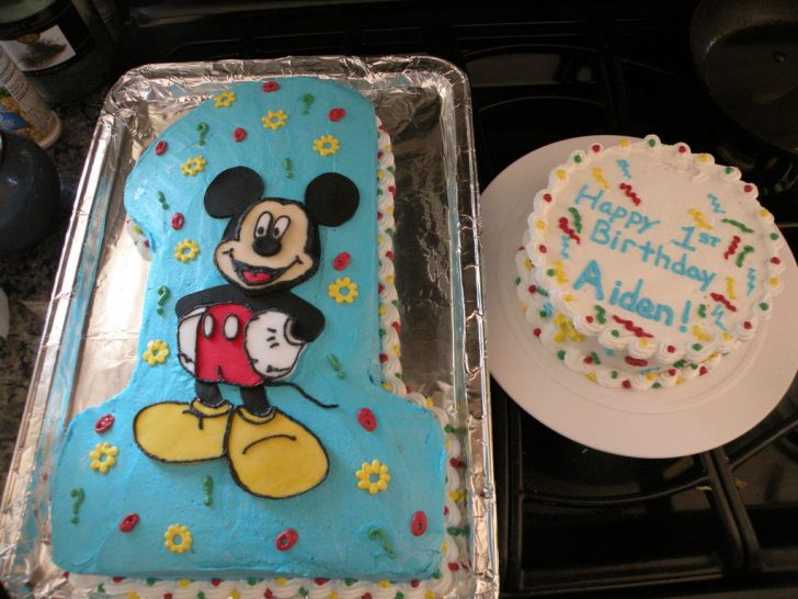 Mickey Mouse First Birthday Cake Mickey Mouse First Birthday Cakecentral