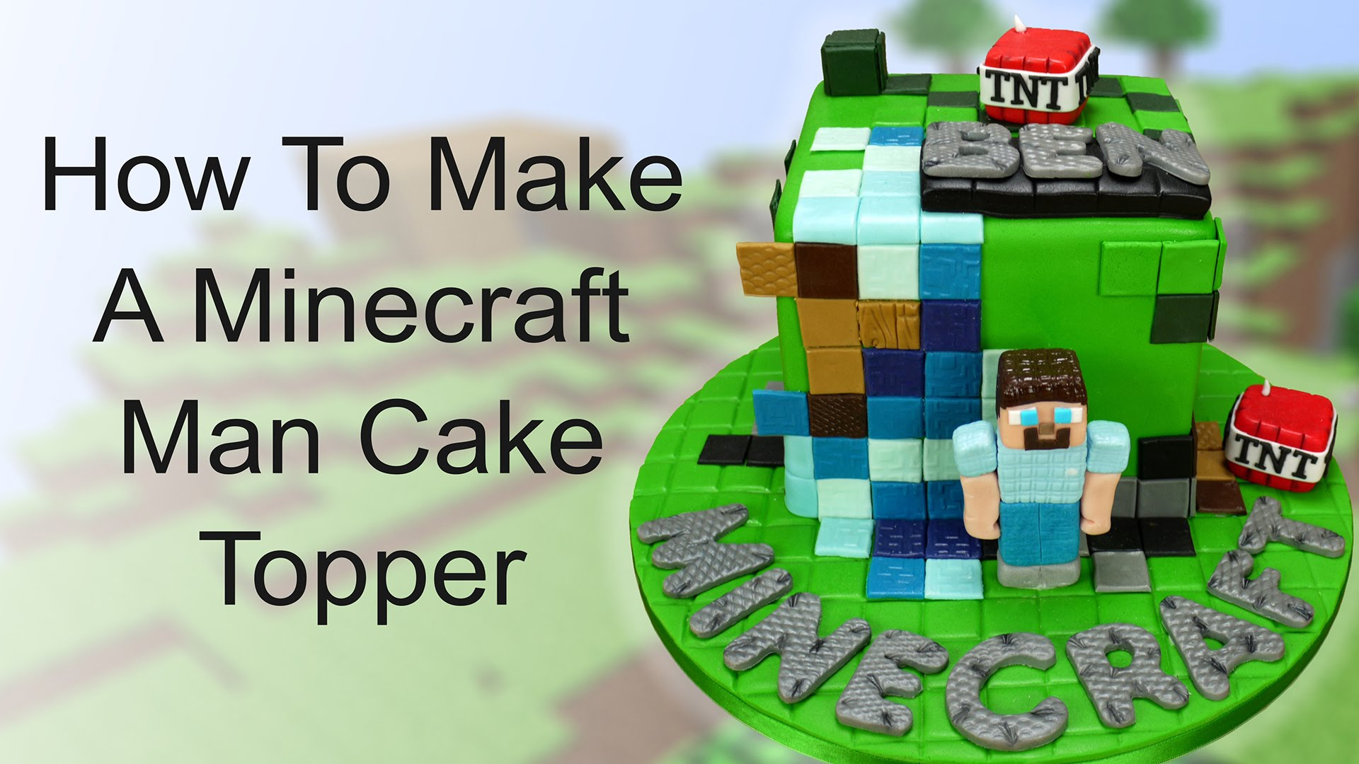 35+ Inspired Picture of Minecraft Birthday Cake Toppers