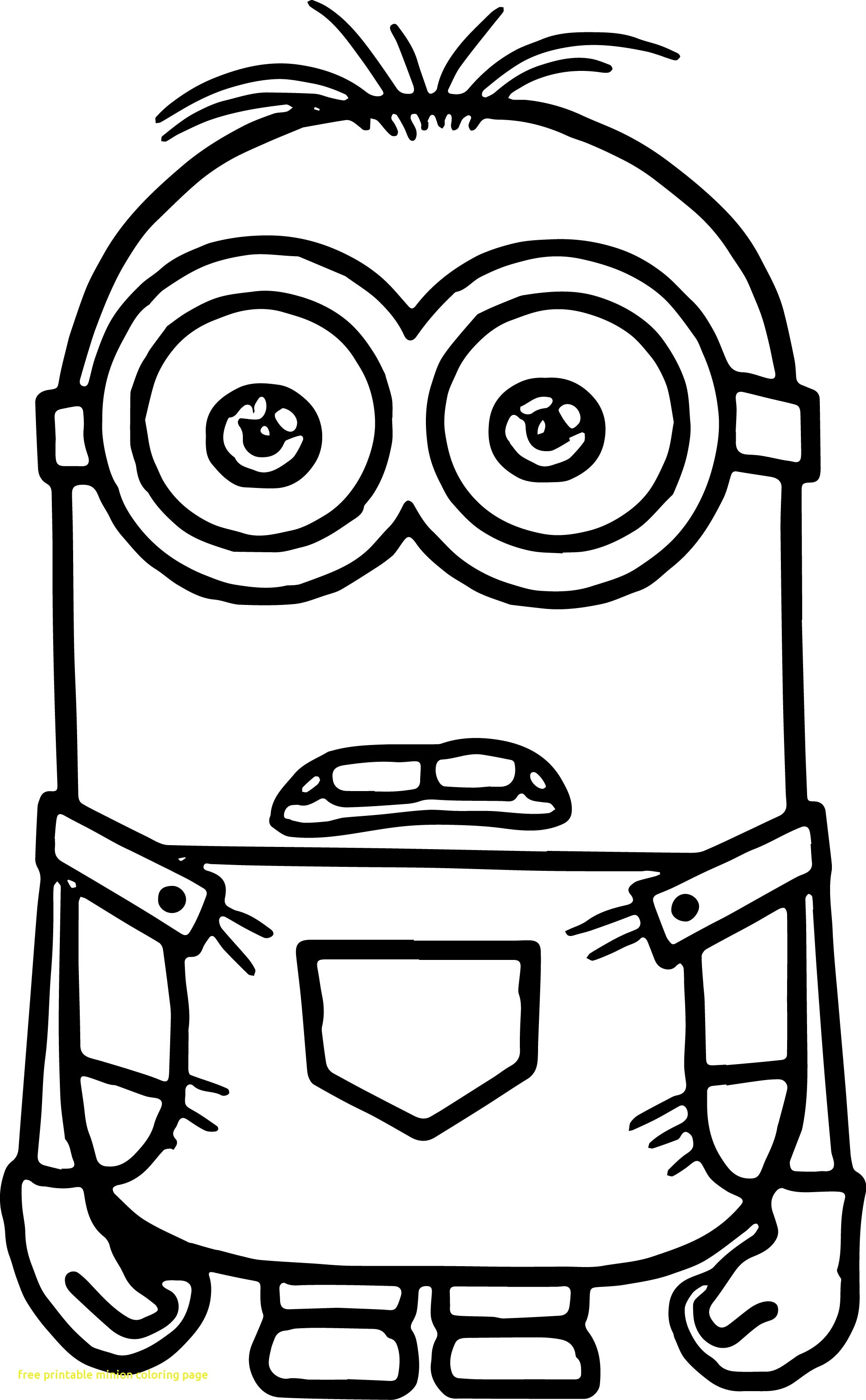 Minion Coloring Pages Free Printable Minion Coloring Pages Coloring