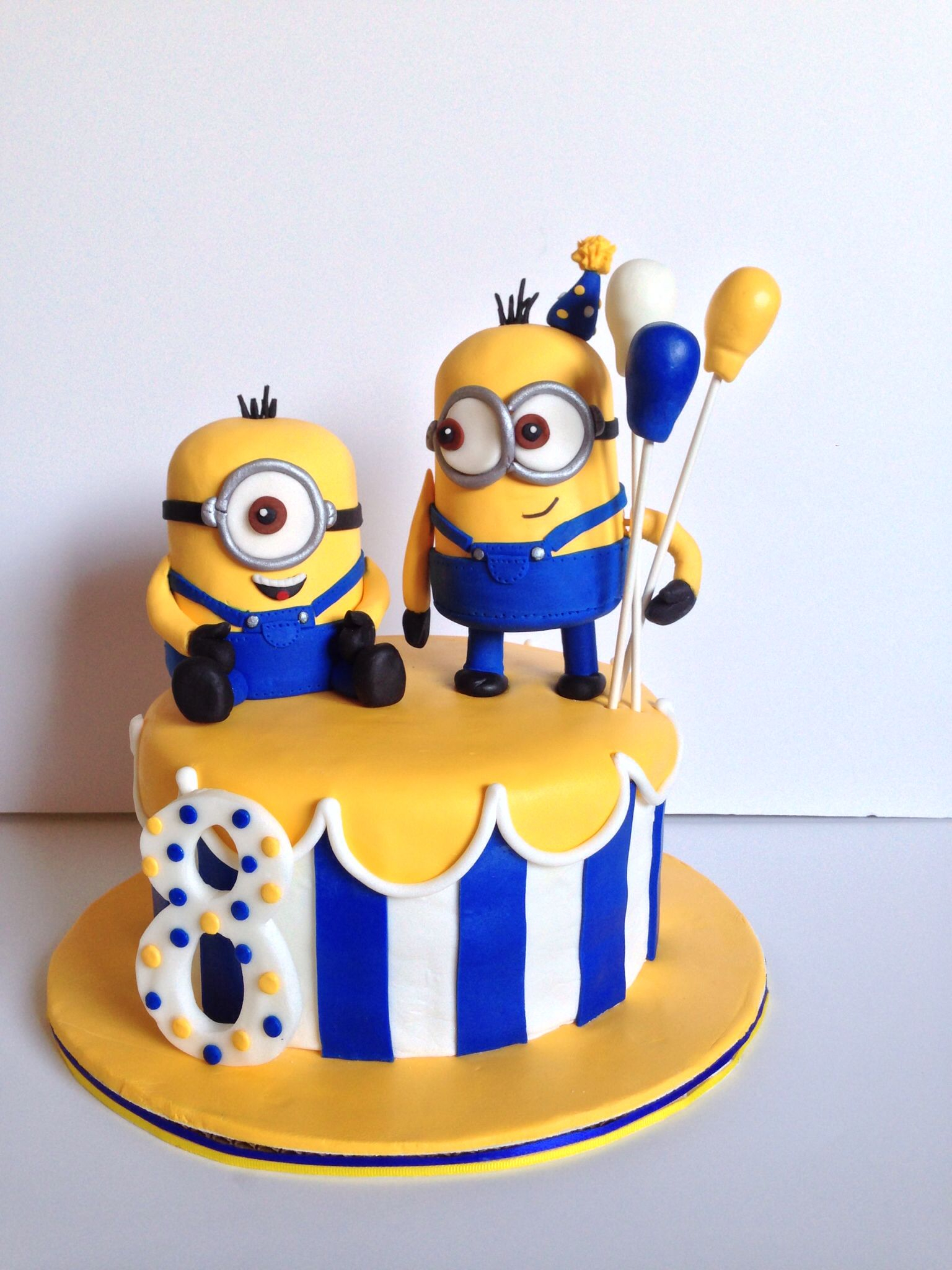 1536 X 2048 In 30 Creative Image Of Minions Birthday Cake