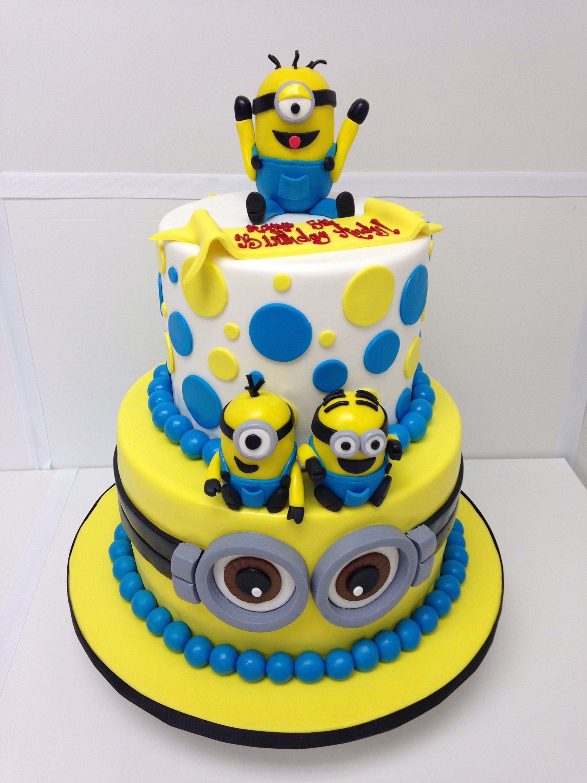 3264 In 30 Creative Image Of Minions Birthday Cake
