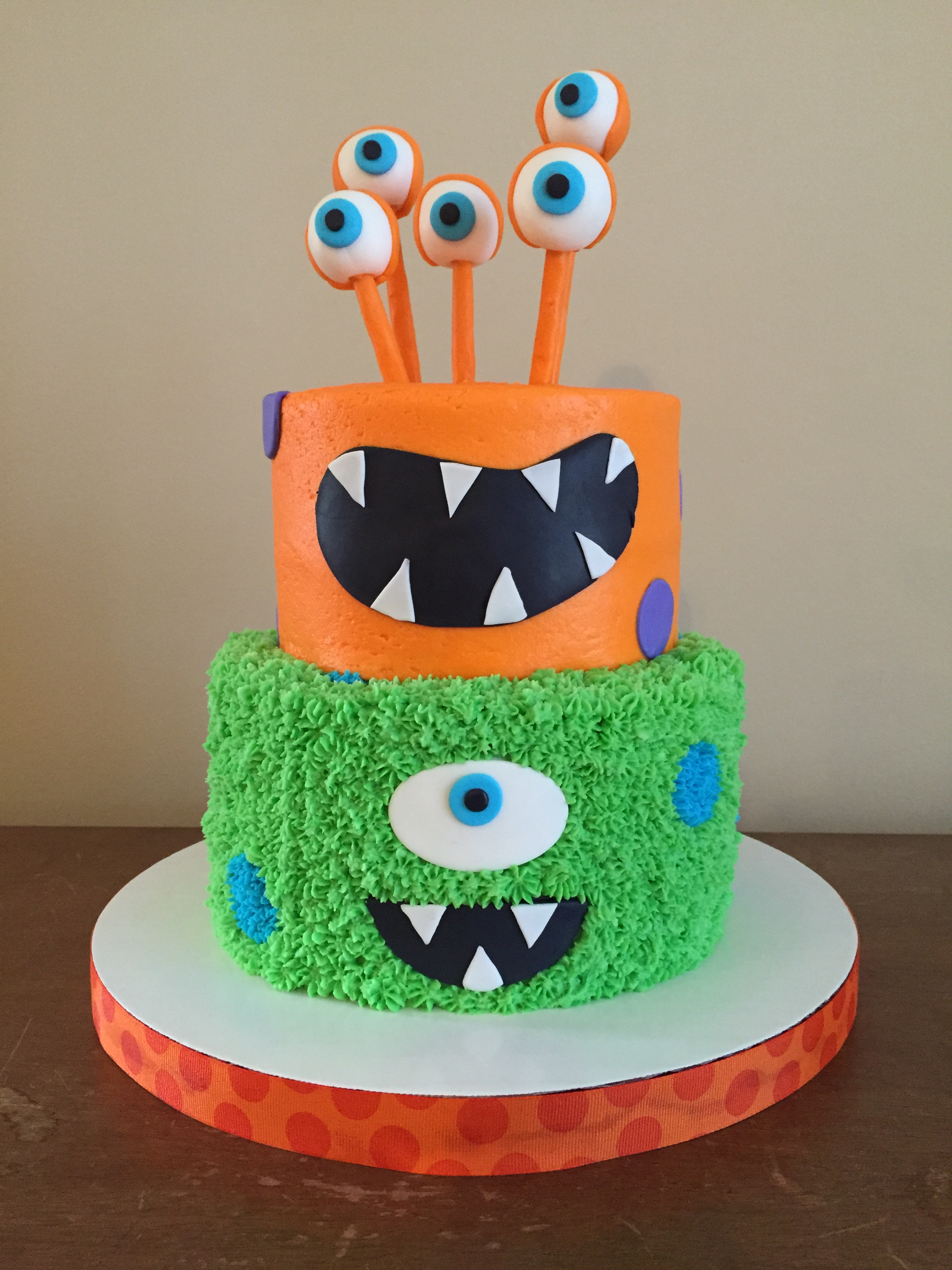 Monster Birthday Cake Monster Birthday Cake Caked Custom Cakes And Cupcakes