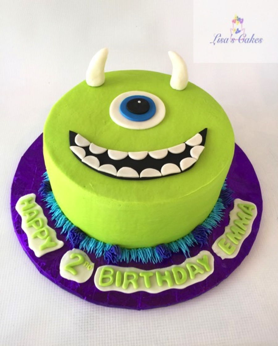 Monster Birthday Cake Monster Inc Birthday Cake Cakecentral