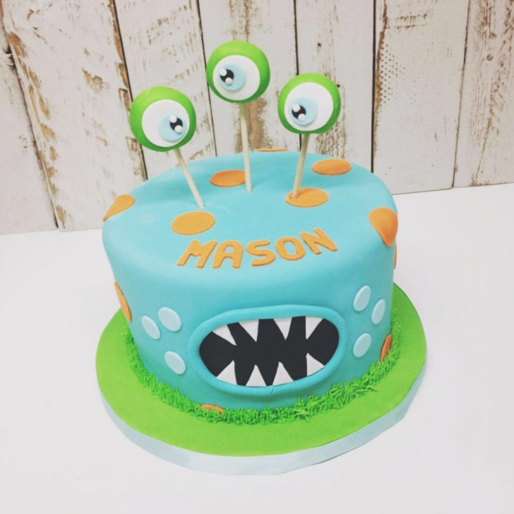 Monster Birthday Cake Nashville Sweets Monster Birthday Cake