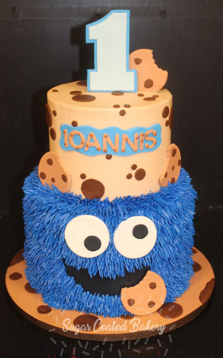 Monster Birthday Cake Sugar Coated Bakery Lowell Baking Everyday Better