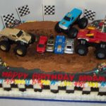 Monster Jam Birthday Cake Bobbies Cakes And Cookies Monsterjam