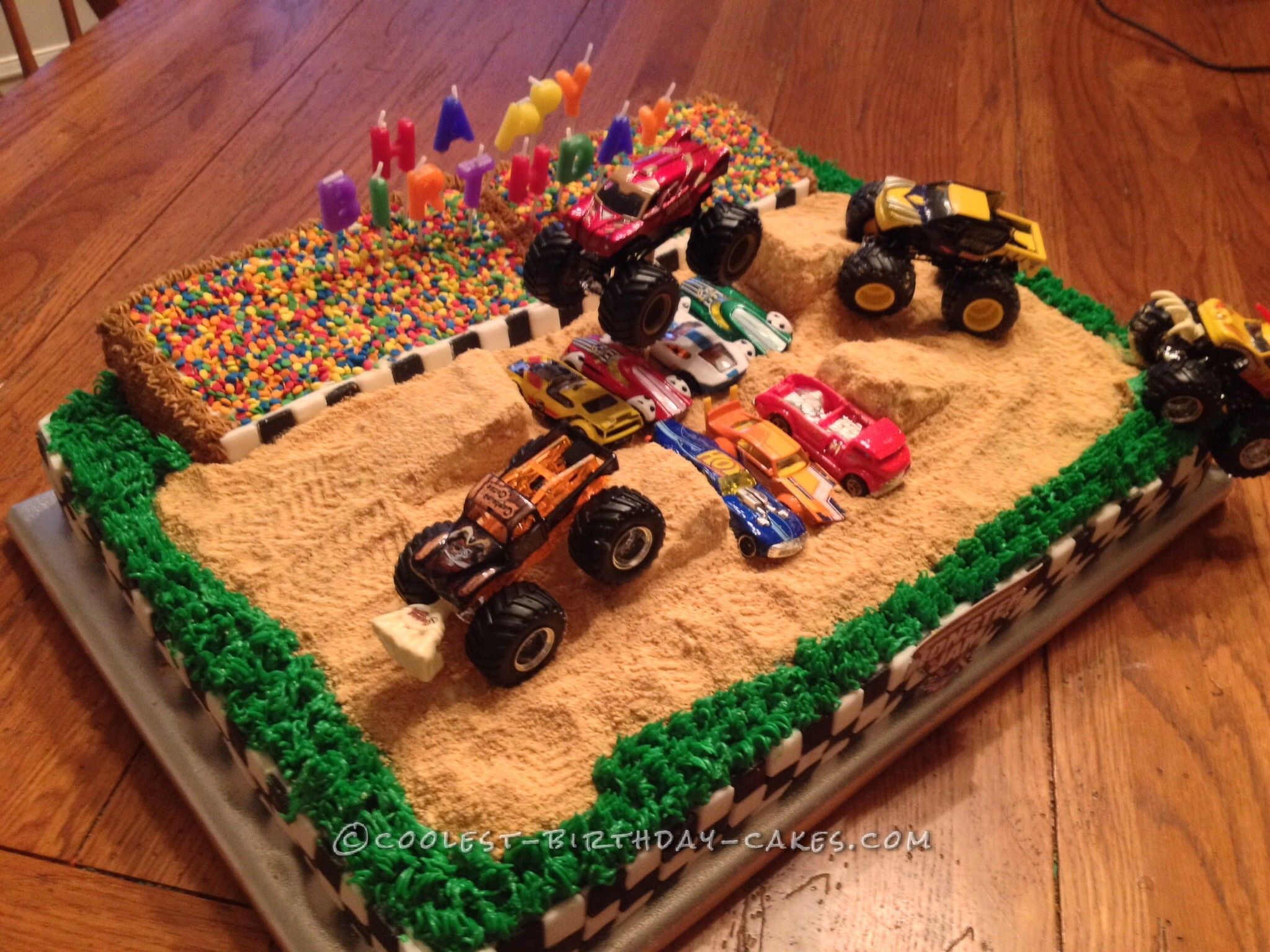 Monster Jam Birthday Cake Cool Homemade Monster Jam Birthday Cake In 2018 Coolest Birthday