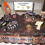 Monster Jam Birthday Cake Coolest Monster Jam Mayhem Cake Birthday Ideas Pinterest