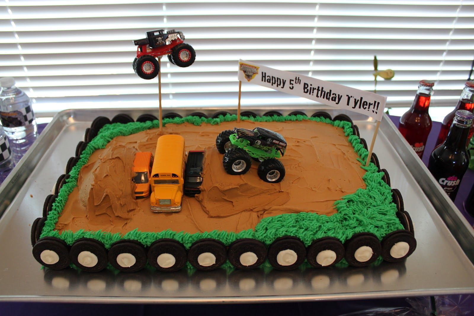 Monster Jam Birthday Cake Easy Monster Truck Birthday Cake For Kids And Grandkids