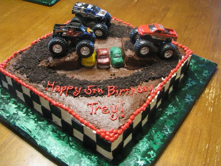 Monster Jam Birthday Cake Monster Jam Cakes Google Search Cake Monster Truck Birthday