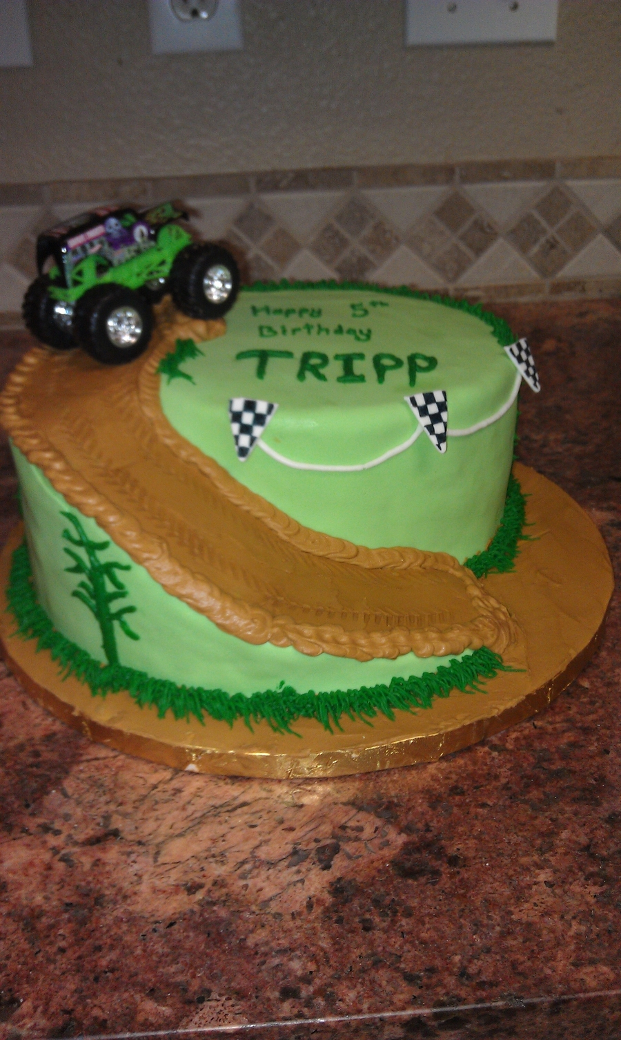 Monster Jam Birthday Cake Monster Truck Birthday Cake Cakecentral