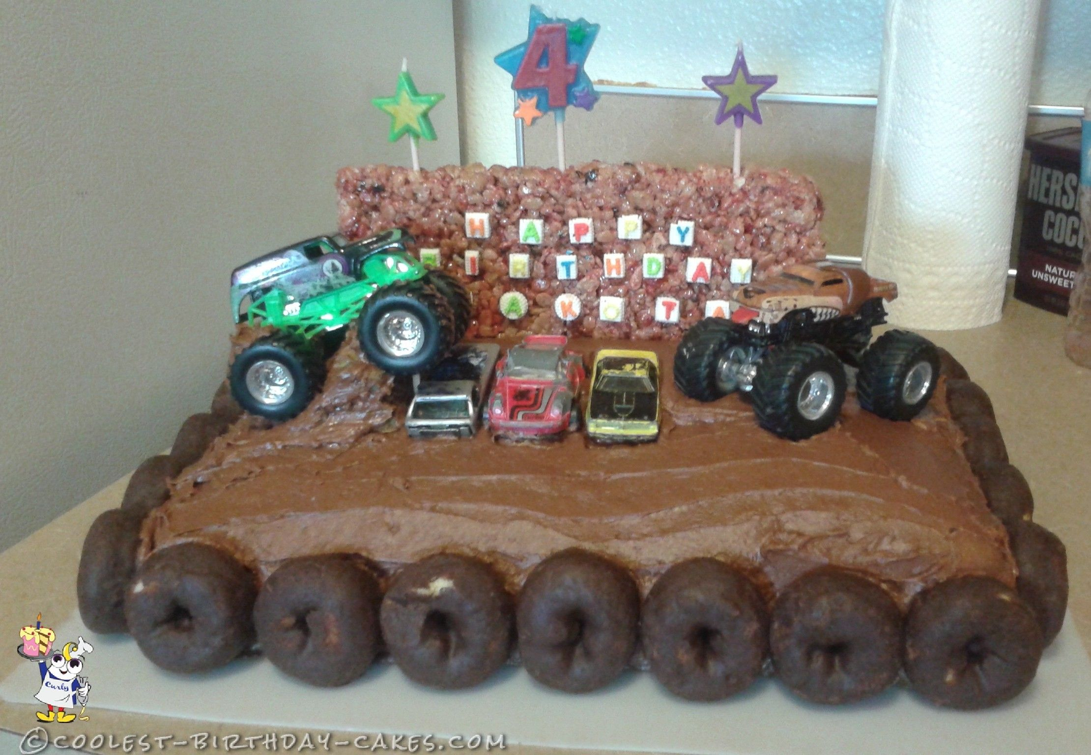 Monster Jam Birthday Cake Monster Truck Birthday Cake In 2018 Monster Truck Bday Pinterest