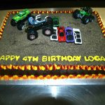 Monster Jam Birthday Cake Monster Truck Birthday Cake Titus 4th Bday Cake Truck Cakes