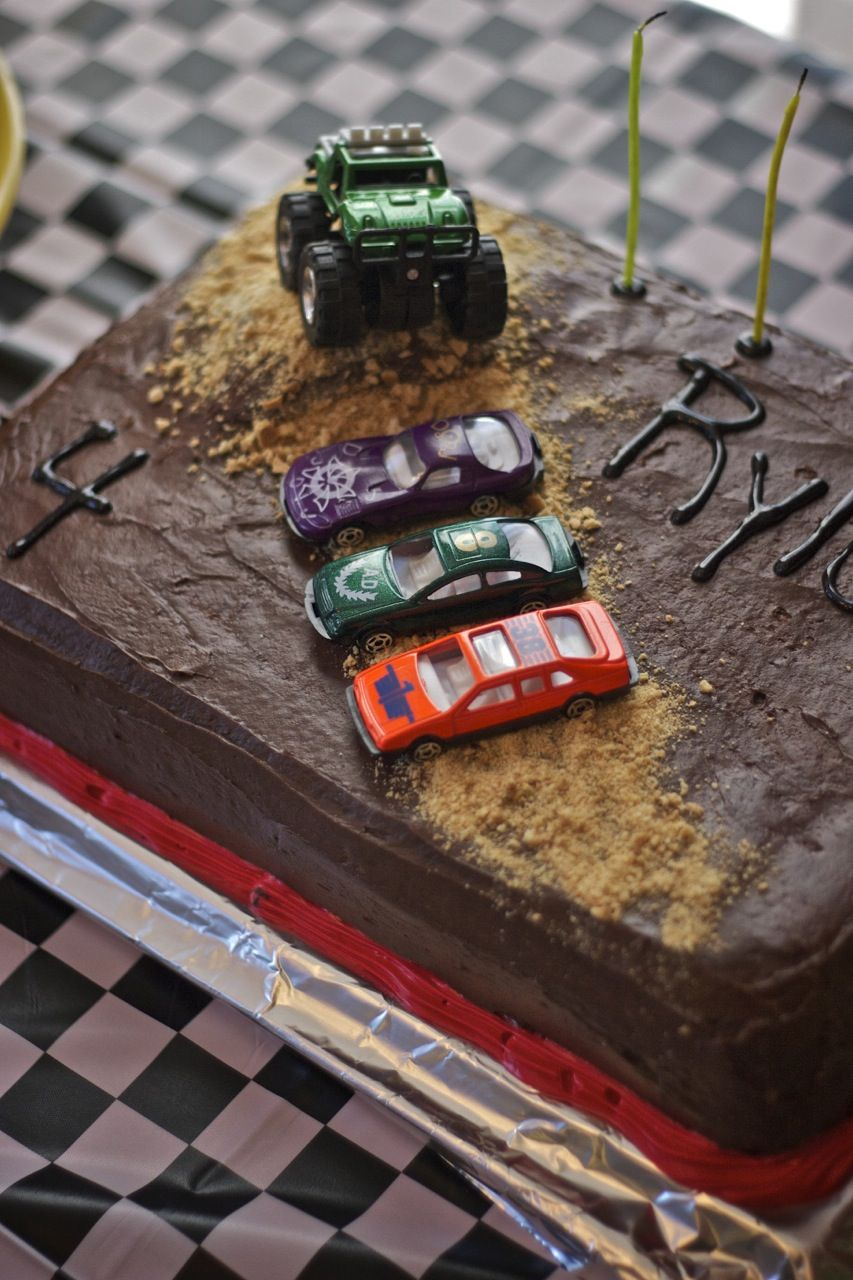 Monster Jam Birthday Cake Monster Truck Cake Tutorial Jacksons 3rd Birthday In 2018