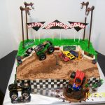 Monster Jam Birthday Cake Monster Truck Cakes Decoration Ideas Little Birthday Cakes