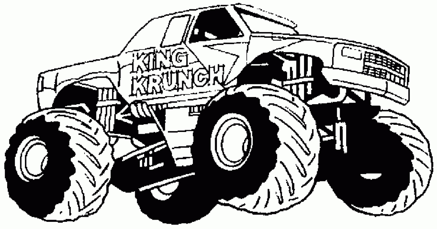 Monster Jam Coloring Pages Monster Jam Coloring Pages Colouring To Print Trucks Truck Printable
