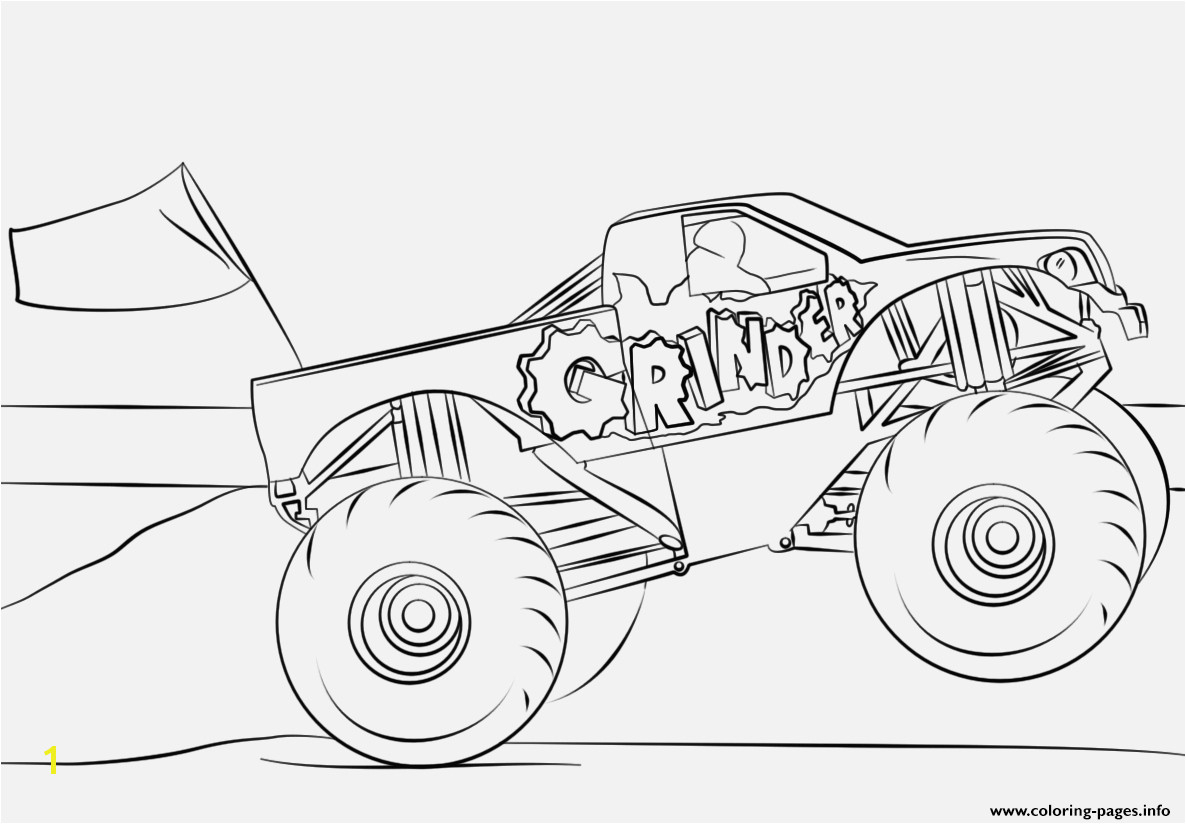Monster Jam Coloring Pages Monster Jam Coloring Pages Printables Spannende Coloring Bilder