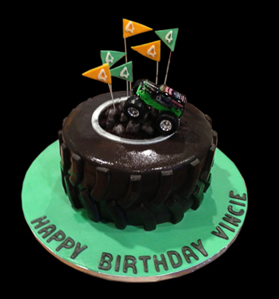 Monster Truck Birthday Cakes Grave Digger Cake Cakecentral