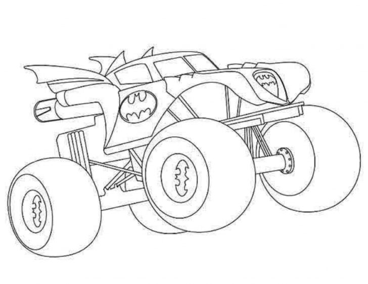 Monster Truck Coloring Page Beautiful Monster Mutt Coloring Pages Spurl