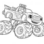Monster Truck Coloring Page Free Printable Monster Trucks Coloring Pages Jullu