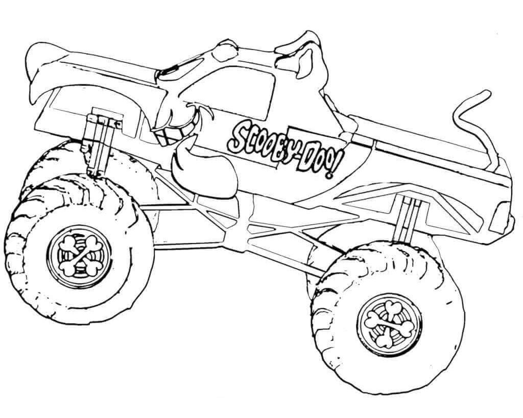 Monster Truck Coloring Page Monster Truck Coloring Pages Ncpocketsofresistance