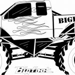 Monster Truck Coloring Page Monster Truck Coloring Pages To Print Futurama