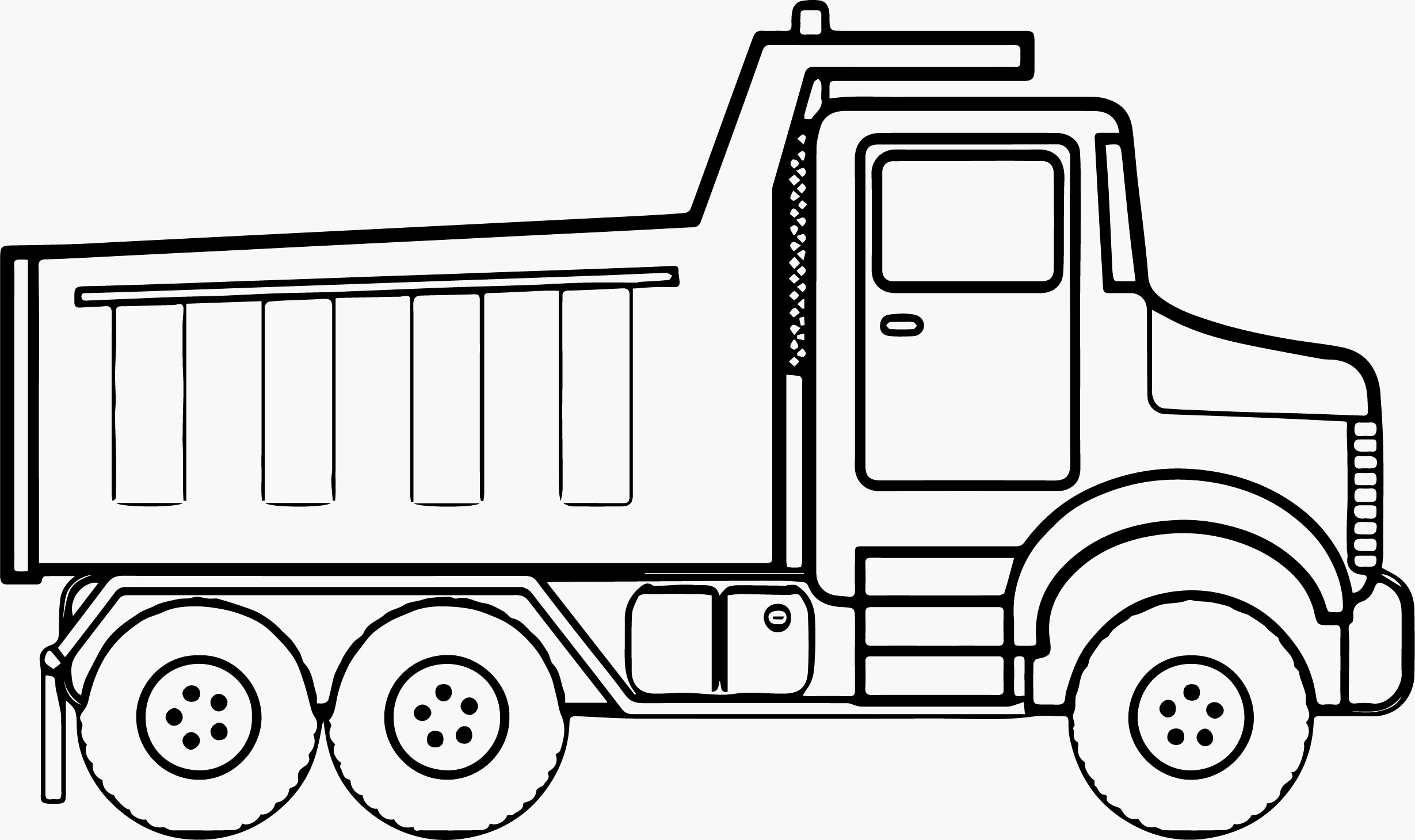 Monster Truck Coloring Page Monster Trucks Coloring Pages Construction Tipper For Vietti
