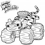 Monster Truck Coloring Pages Blaze Monster Truck Coloring Pages At Getdrawings Free For