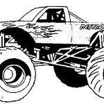 Monster Truck Coloring Pages Free Monster Truck Coloring Pages To Print
