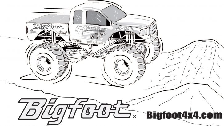 Monster Truck Coloring Pages Monster Truck Coloring Pages For Kids Luxury Printable Truck