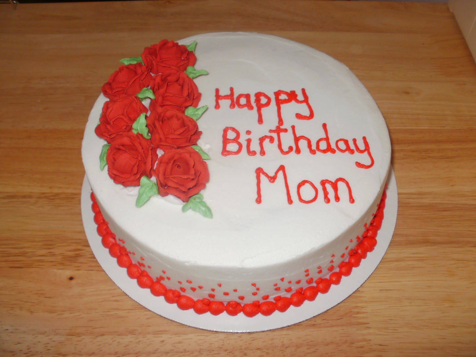 1200 In 32 Inspired Picture Of Mother Birthday Cake