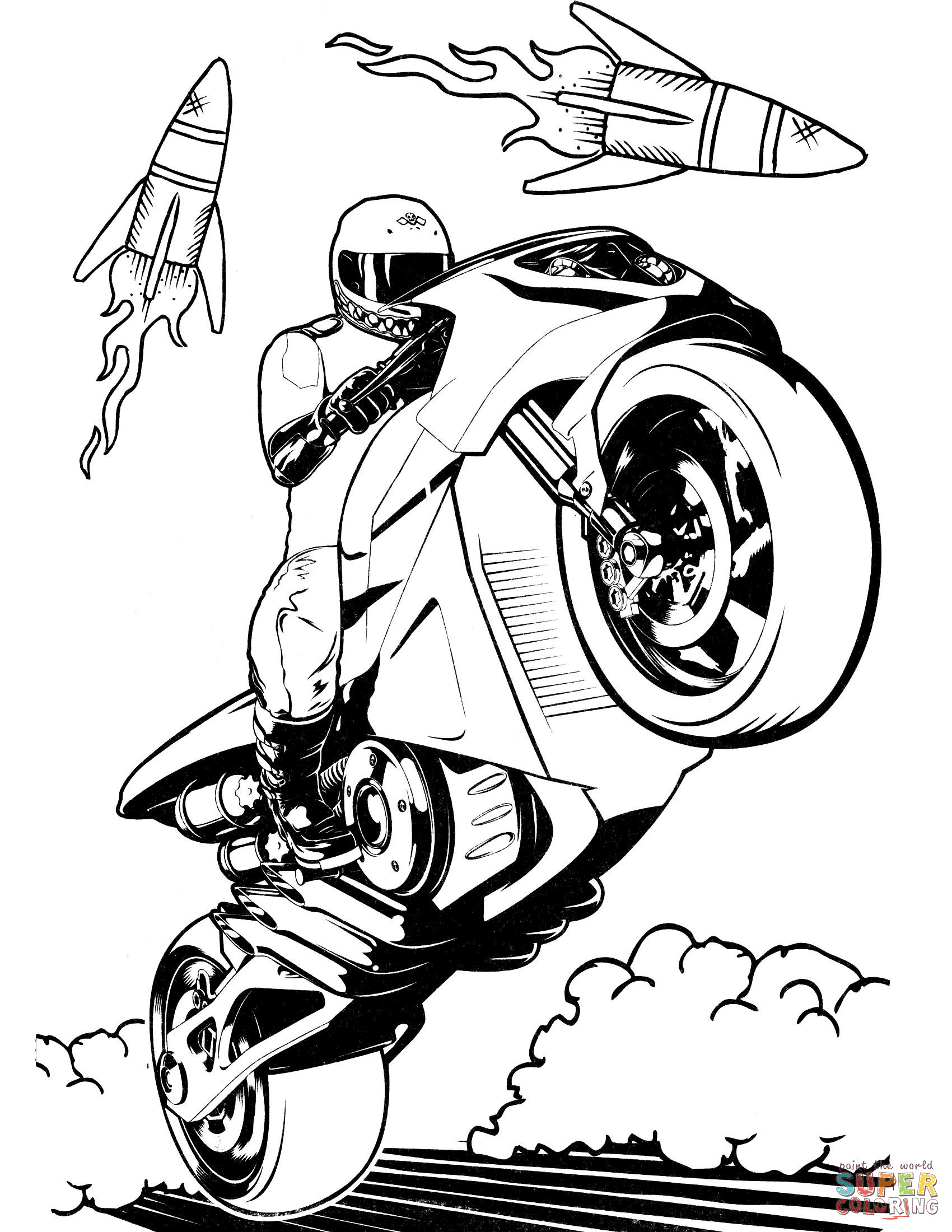 Motorcycle Coloring Pages Hot Wheels Motorcycle Coloring Page At Hot Wheels Coloring Page
