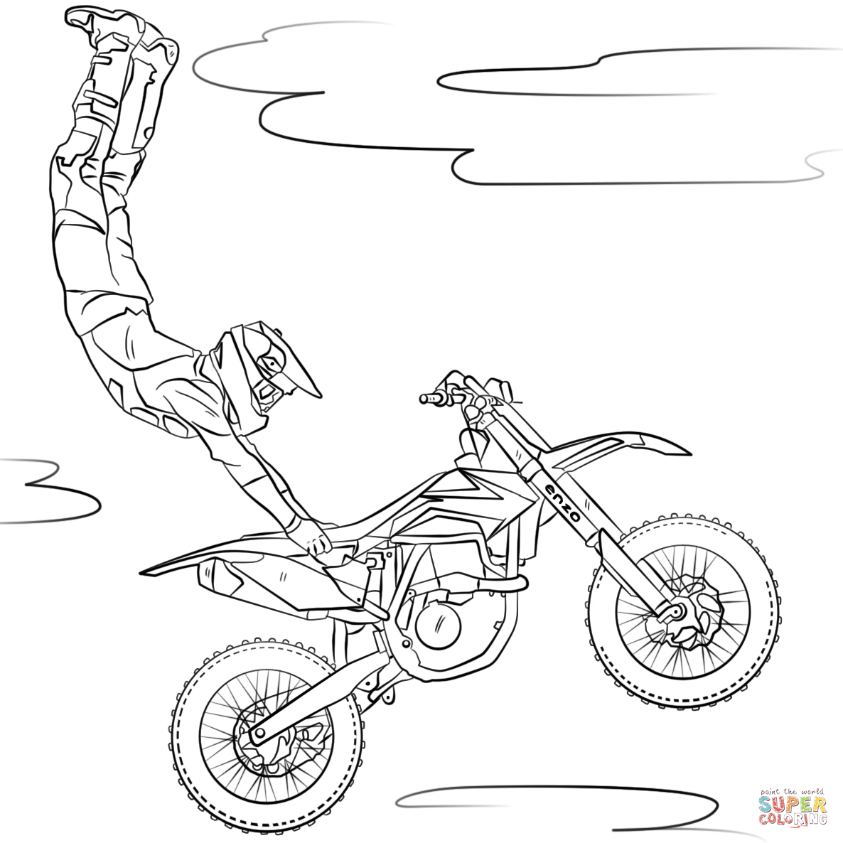 Motorcycle Coloring Pages Motorcycles Coloring Pages Free Coloring Pages