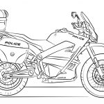 Motorcycle Coloring Pages Police Motorcycle Coloring Page Free Printable Coloring Pages
